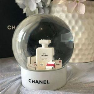 Authentic Chanel snow globe